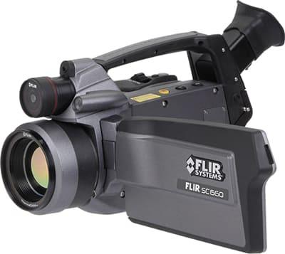 赤外線カメラ FLIR SC660