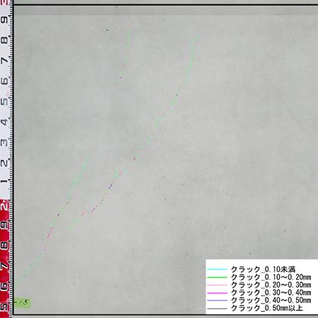 先進物流施設コンクリート床面調査2