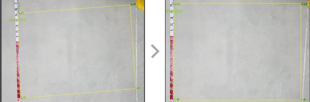 ドローンによる物流施設コンクリート床面調査