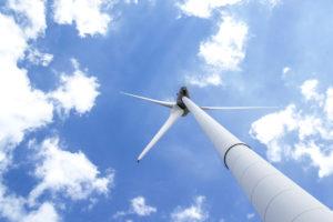 風力発電機のブレードをAIで解析